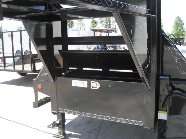 *FG59* 8.5x32 Flatbed Gooseneck Trailer 10 Ton|Hydraulic Dove Trailers 8.5 x 32 | FG102-32T10-HYD