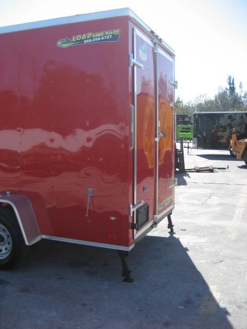 *E80* 6x12 Enclosed w/Concession Window Cargo Food Trailer 6 x 12 | EV6-12S3-DD/Cons