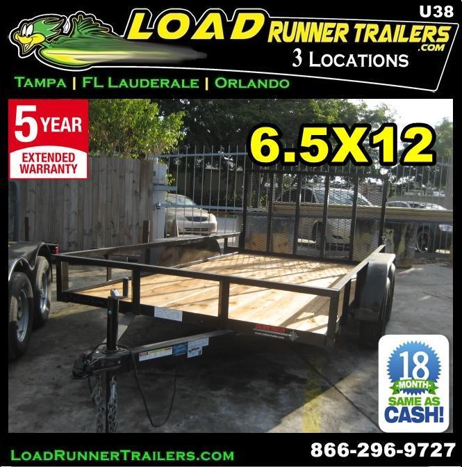 *U38* 7x20 Utility Trailer Elec Brakes Inc. 7 x 20   U82-20T3-1B-TR in Ashburn, VA