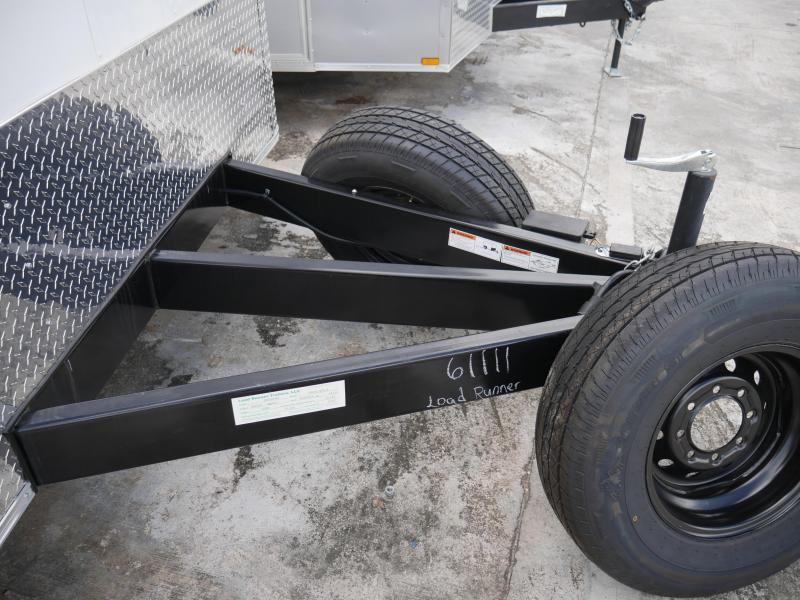 *E10E* 8.5x16 Enclosed Cargo Flat Nose Trailer Box Hauler 8.5 x 16 | EF8.5-16T3-R