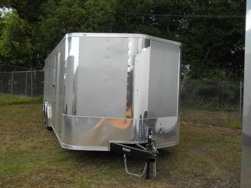 E12E| 8.5x24*Enclosed*Trailer*Cargo*Car*Hauler*|LR Trailers | 8.5 x 24 |E12E