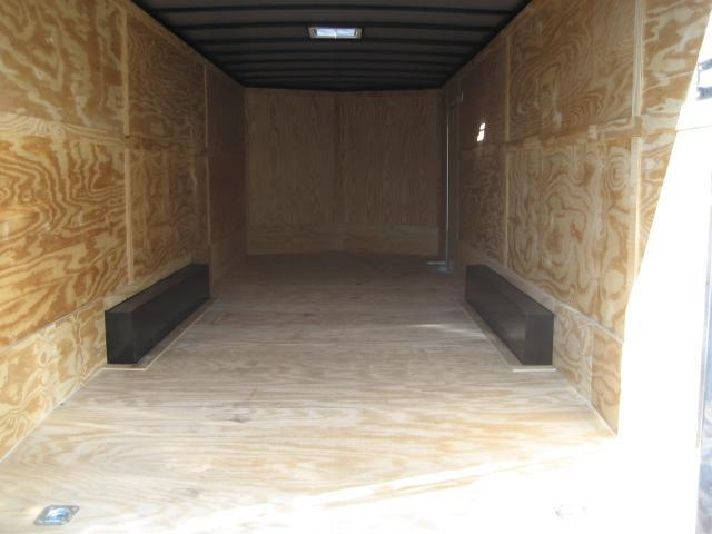 *E12E* 8.5x24 Enclosed Trailer HAULERS Cargo Car Hauler 8.5 x 24 | EV8.5-24T3-R