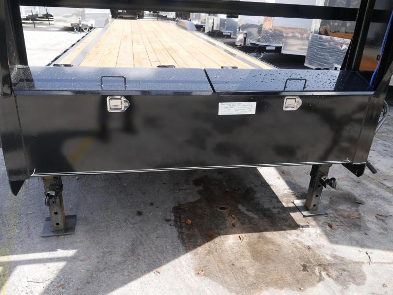 *CHG49* 8.5x40 7 TON Gooseneck Car Hauler Trailer  LR Trailers 8.5 x 40   CHG102-40T7-DOF