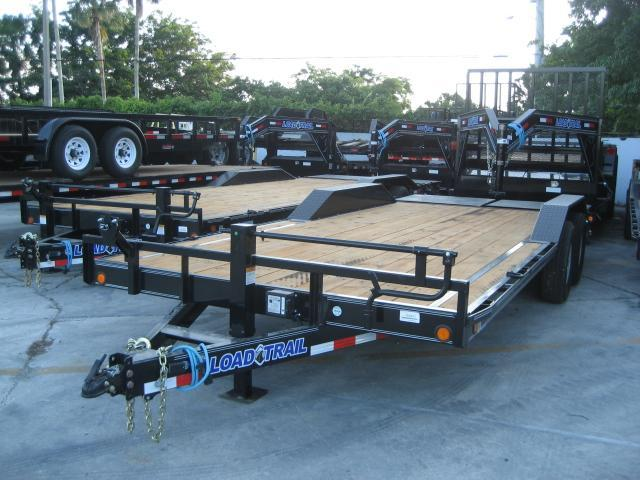 *H79* 8.5x20 7 TON Equipment Hauler Trailer W/Drive Over Fenders|Dove Tail 8.5 x 20 | EQ102-20T7-DOF/MPD