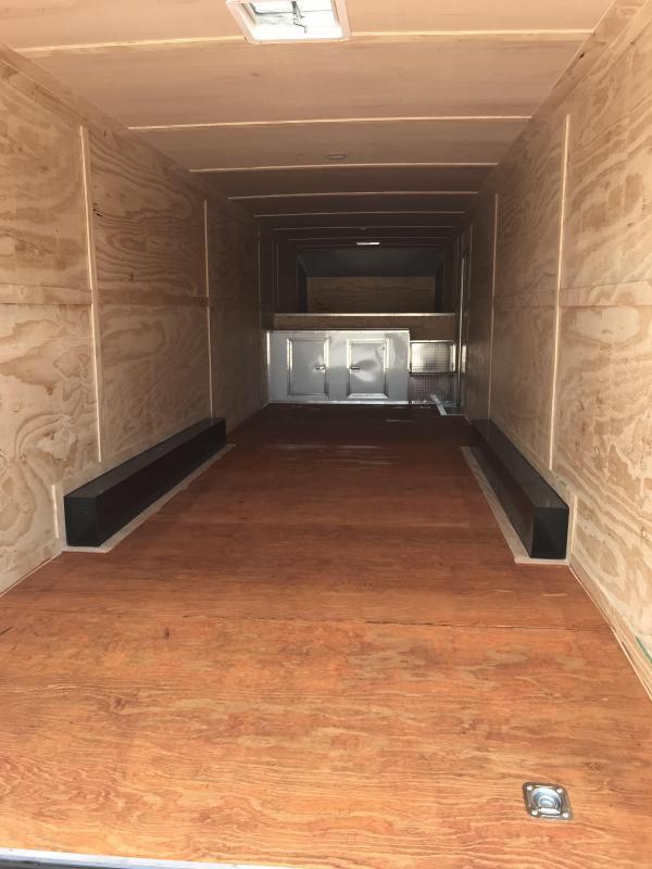 *EFG10* 8.5x36 Enclosed Gooseneck Cargo Trailer |21K Car Trailers 8.5 x 36 | EFG102-36TT7T-R