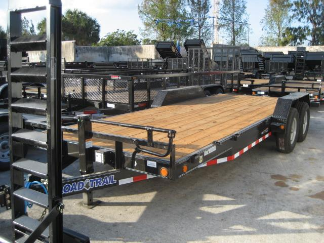 *H39* 7x20 7 TON Car|Equipment Hauler Load Trail Trailer 7 x 20 | CH83-20T7