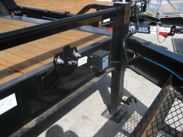 *EQ15* 7x20 10 TON Equipment & Car Hauler Trailer | LR Trailers 7 x 20 | EQ82-20T10T-KR