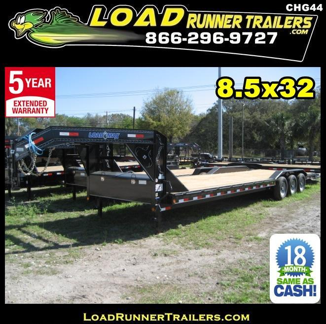 *CHG44* 8.5x32 Gooseneck Car Hauler Drive Over Fenders 8.5 x 32 | CHG102-32TT7-DOF in Ashburn, VA
