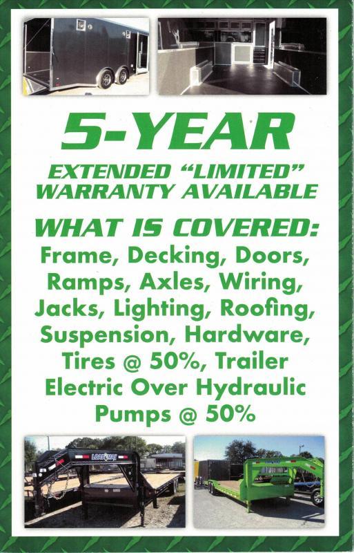*U26* 7x16 Utility Trailer w/Ramp Elec Brakes and Tube Rail 7 x 16   U82-16T3-1B-TR