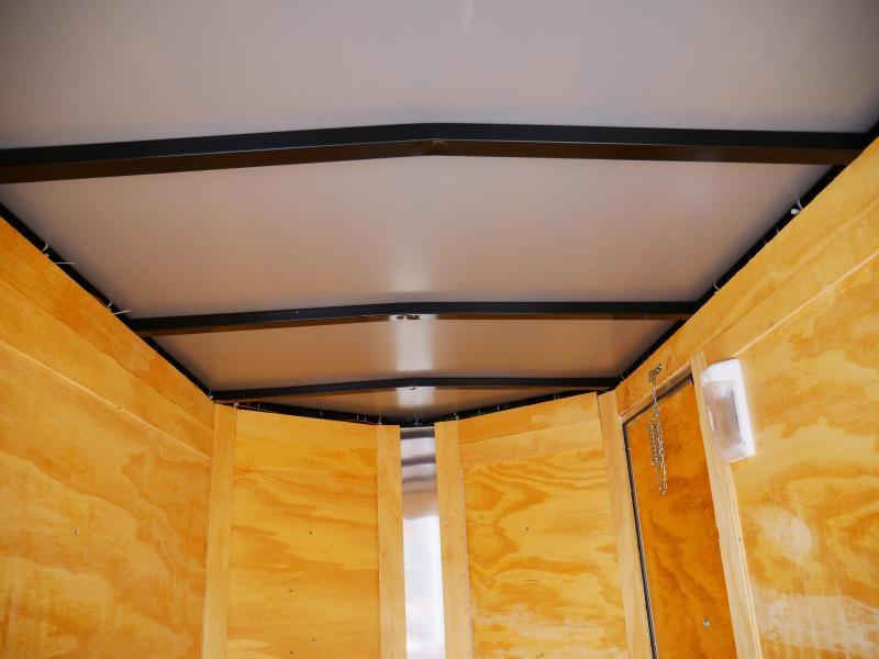 *E19* 4x6 Enclosed Luggage Cargo  Trailer 4 x 6   EV4-6S3-R