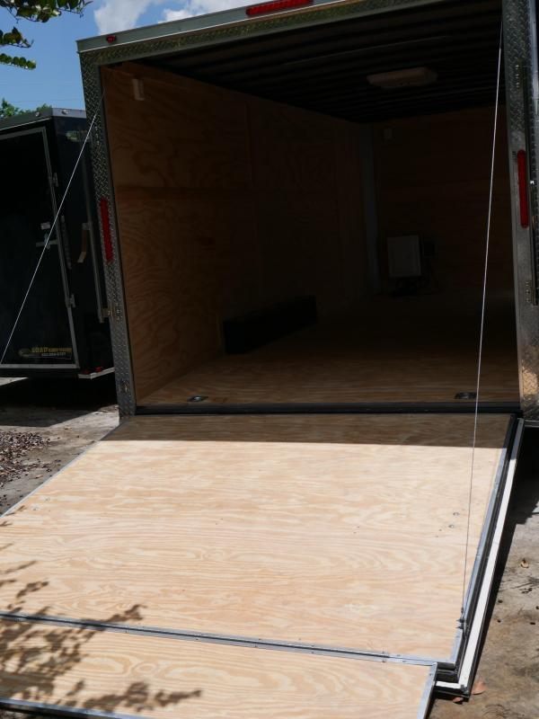 *E11D* 8.5x20 Enclosed Cargo Trailer With Electric Pkg & Air Conditioning 8.5 x 20 | EF8.5-20T5-R