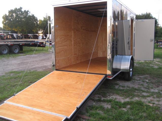 *E4H* 6X12  Enclosed Cargo Trailer LR Camping Trailers 6 x 12 | EV6-12S3-R