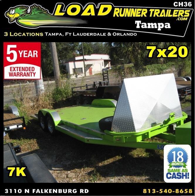 *CH36* 7x20 Sport Car Hauler Trailer |7K Trailers  Haulers 7 x 20 | CH83-20T3-1B-SD-SPORT in Ashburn, VA