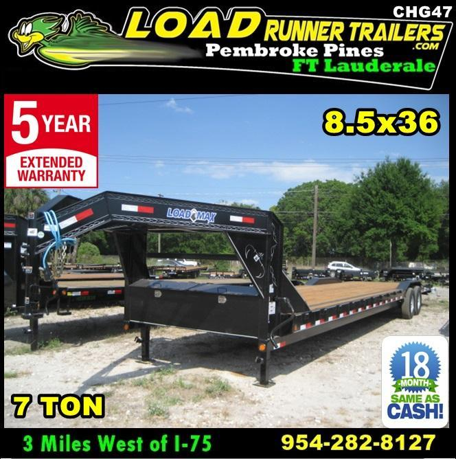 *CHG47* 8.5x36 Gooseneck Hauler Trailers Car Trailers 8.5 x 36 | CHG102-36T7-DOF in Ashburn, VA
