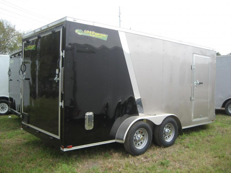 *E9* 7x16 Enclosed Trailer Cargo Tandem Axle Trailers 7 x 16   EV7-16T3-R