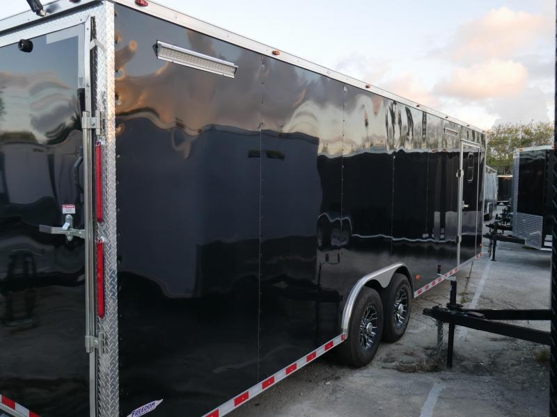 *E13-Race* 8.5x24 RACE CAR ENCLOSED CARGO TRAILER |LR TRAILERS 8.5 x 24 | EV8.5-28T5-RACE