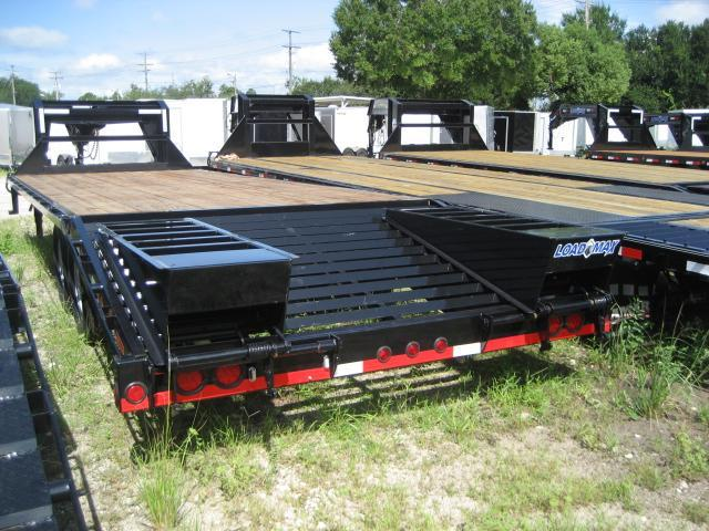 *FG43* 8.5x25  Flatbed Trailer w/ Ramps 7 TON Deck Over Trailers 8.5 x 25   FG102-25T7-FF
