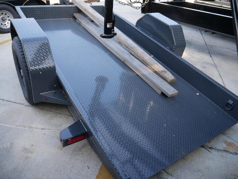 *T60* 5x10 Tilt Deck Bobcat Hauler Trailer 7K Trailers 5 x 10   T59-10S7T-GT