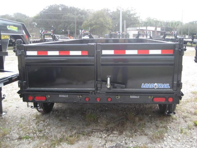 *DB19* 7x14 14K Load Trail Dump Trailer Tandem Axle Trailers 7 x 14 | D83-14T7-24S