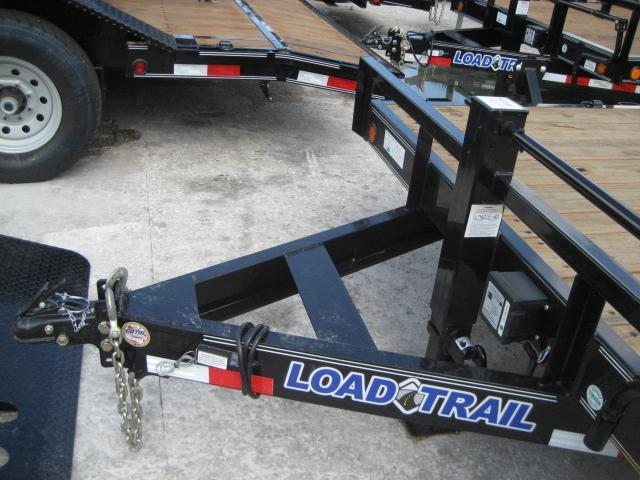 *EQ16* 7x22 7 TON Equipment & Car Hauler Trailer |LR Trailers 7 x 22 | EQ83-22T7-KR
