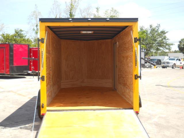 *E14* 7x12 Enclosed Cargo Trailer Tandem Axle Trailers & Haulers 7 x 12 | EV7-12T3-R