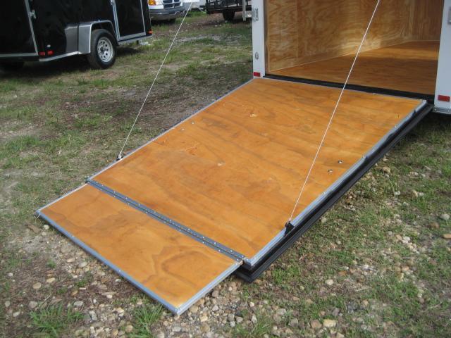 *E3B* 6x10 Enclosed Trailer Cargo L R  Lawn Trailers 6 x 10 | EV6-10S3-DD