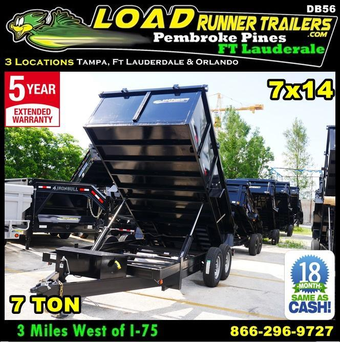 *DB56* 7x14 Twin Piston 7 Ton Dump Taylor Dumps & Trailers 7 x 14 | D82-14T7-36S in Ashburn, VA