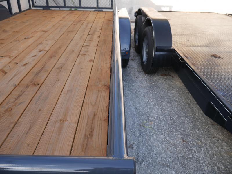 *U85* 7x16 Utility Lawn Trailer |Load Runner Trailers 7 x 16 | U83-16T3-1B-PR