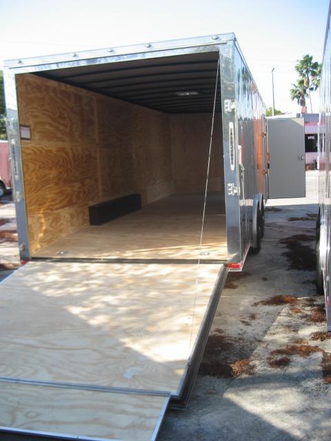 *E12E* 8.5x24 Enclosed Trailer HAULERS Cargo Car Hauler 8.5 x 24 | EV8.5-24T3-R