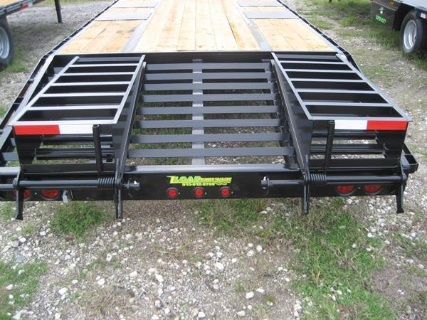 *FG10* 8.5x25 Flatbed Gooseneck Deck Over 10 TON|20K Trailer 8.5 x 25 | FG102-25T10-FF