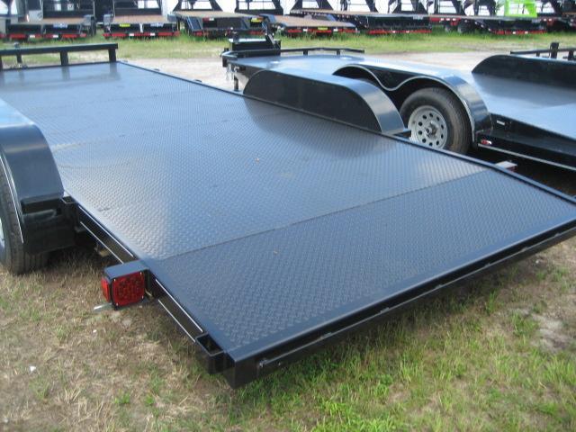 *H10* 7x20 CAR HAULER Trailer 5 TON Steel Deck Trailers 7 x 20 | CH82-20T5-2B-SD