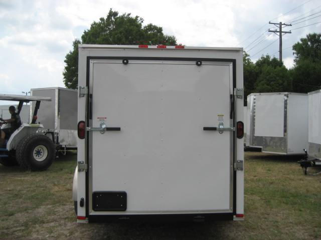 *E4E* 6x12 Enclosed Cargo Trailer SA LR Plumber Trailers 6 x 12   EV6-12S3-R