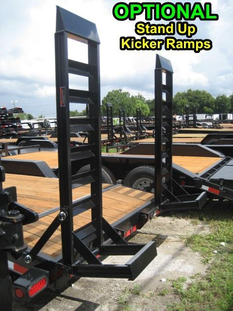 *EQ12* 7x18 5 TON Equipment & Car Hauler Trailer|LR Trailers 7 x 18 | EQ83-18T5-2B-KR