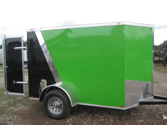 *E1* 5x8 Enclosed Trailer  LR Trailers Cargo 5 x 8   EV5-8S3-R