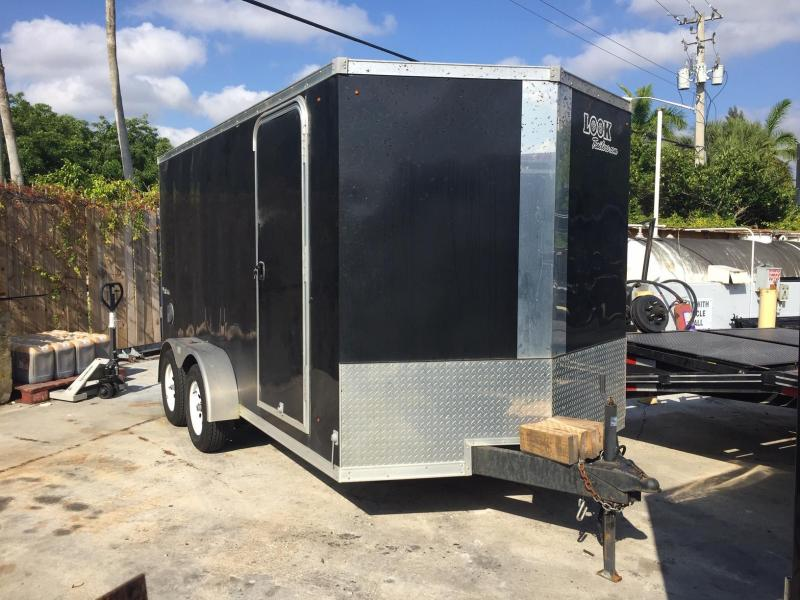 *EU8* 7x14 Enclosed Trailer Cargo | Tandem Axle Trailers 7 x 14 | EV7-14T3-R