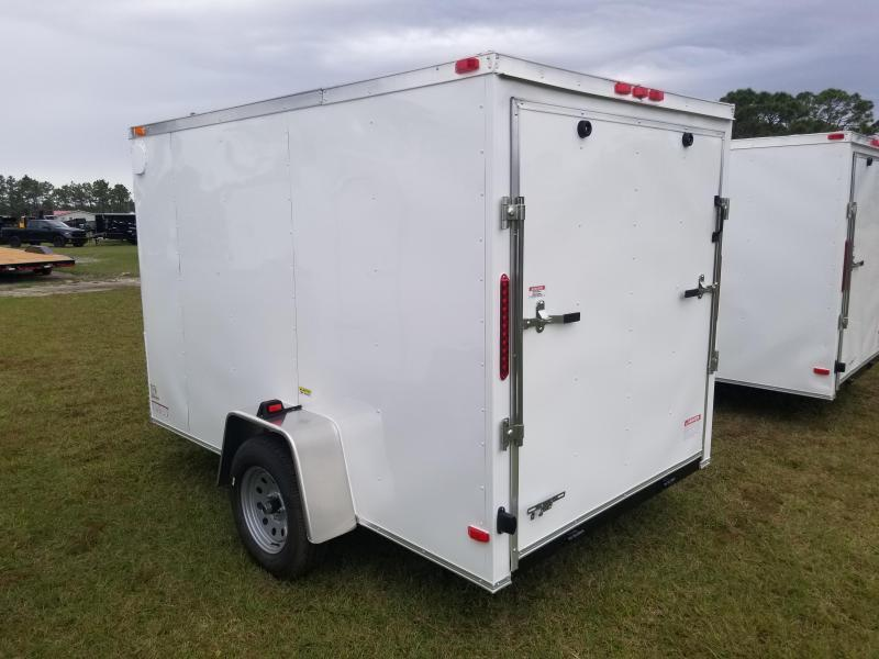 *E8-BB* 7x14 Enclosed Trailer Cargo Tandem Axle Big Band 7 x 14   EV7-14T3-R