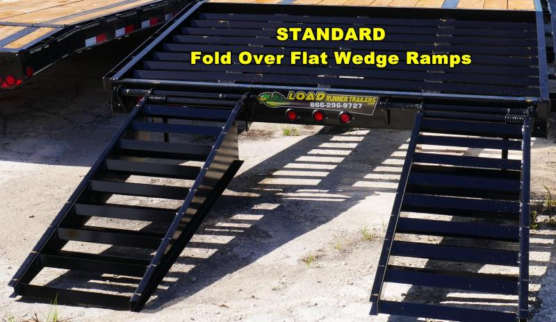 *FC38* 8.5x24 7 TON Flatbed Trailer Deck Over Trailers with Multipurpose Dove 8.5 x 24 | FC102-24T7-FF