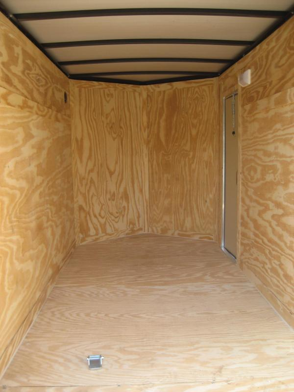 *E2* 5x10 Cargo Enclosed Trailer Catering Cargo Trailers 5 x 10 | EV5-10S3-R