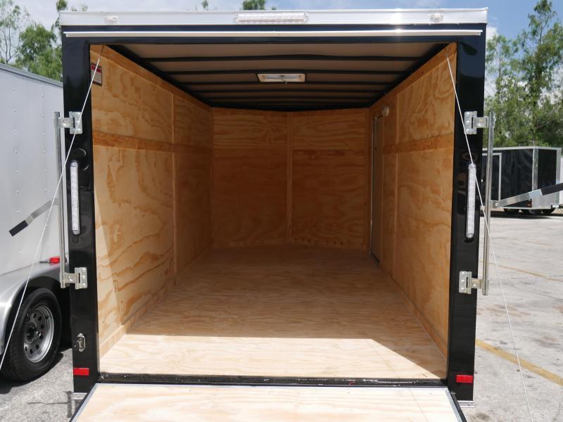 *E8* 7x14 Enclosed Trailer Cargo Tandem Axle Big Band 7 x 14 | EV7-14T3-R