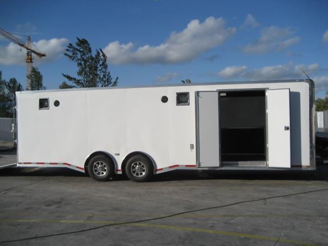*E43* 8.5x28 RACE CAR TRAILER   Enclosed Cargo  Fully Dressed 8.5 x 28   EF8.5-28T7T-R/RACE