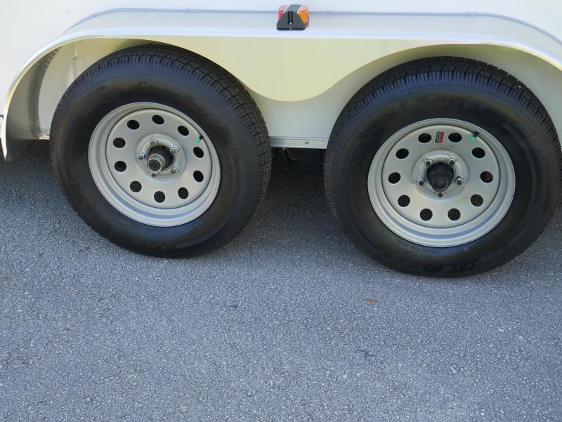 *E9G* 7x16 Enclosed Trailer Cargo Storage Trailers 105731  7 x 16   EV7-16T3-R
