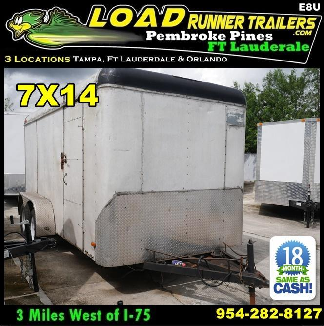 Used Cargo / Enclosed Trailers for sale | Cargo Trailers For