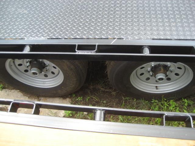 *FC35* 8.5x22 7 TON Flatbed Deck Over Trailer LRT Trailers 8.5 x 22 | FC102-22T7-FF