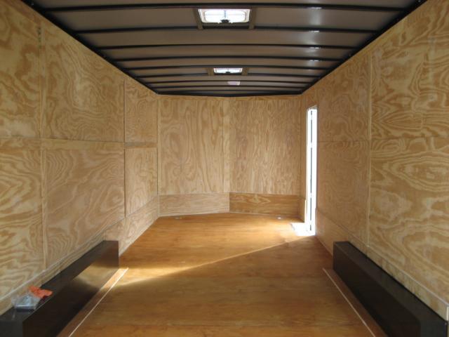 *E12C* 8.5x24 Enclosed Car Hauler Cargo Trailer HAULERS 8.5 x 24   EV8.5-24T7-R