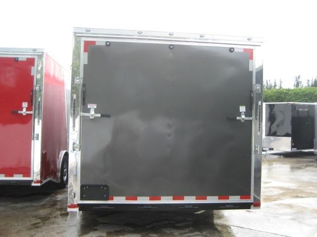 *E12C* 8.5x24 Enclosed Car Hauler Cargo Trailer HAULERS 8.5 x 24 | EV8.5-24T7-R