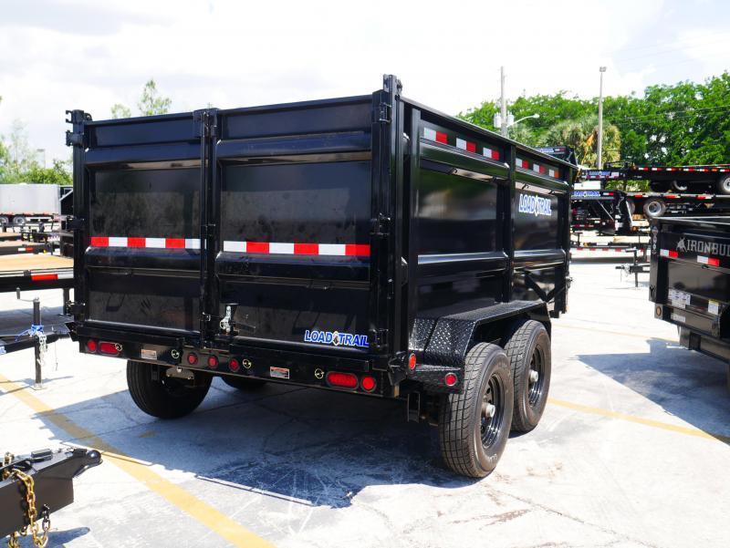 *DB18* 7x12 14K Load Trail Trailers |Dump Trailer 4FT Sides 7 x 12 | D83-12T7-48S