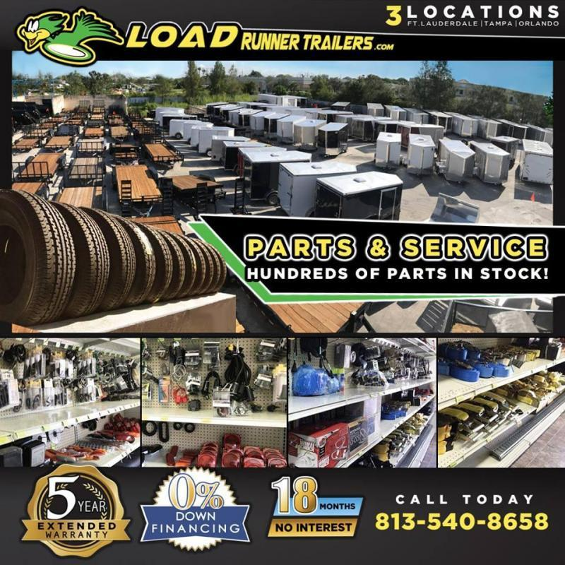 *E11D* 8.5x20 Enclosed Cargo Trailer With Electric Pkg & Air Conditioning 8.5 x 20   EF8.5-20T5-R