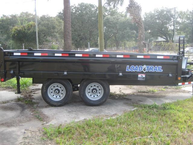 *DB32* 8x14 7 TON Dump Trailer LR Dumps & Trailers 8 x 14   D96-14T7-18S