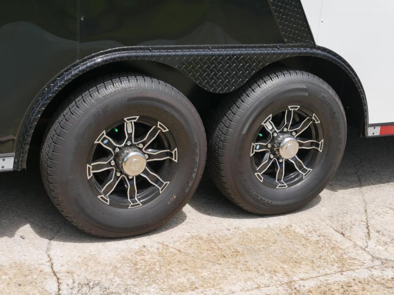*E18* 8.5x30 Enclosed Car Hauler Trailer Cargo Trailers 8.5 x 30 | EV8.5-30T3-R