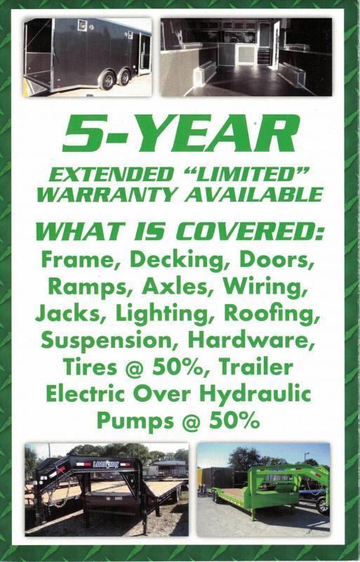 *CH43* 8.5x24 Hauler Trailer 7 TON Equipment Car Trailers 8.5 x 24 | CH102-24T7-DOF